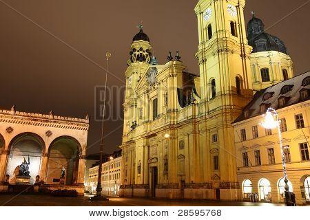 Odeonsplatz Munich-Germany