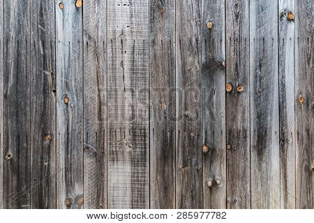 Old Rustic Weathered Wood Barn Siding Background