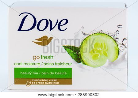 Dove Bar Soap In Grouping Of Three