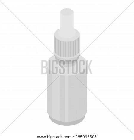 Eye Lens Dropper Icon. Isometric Of Eye Lens Dropper Vector Icon For Web Design Isolated On White Ba