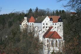 Castle Haigerloch In Germany