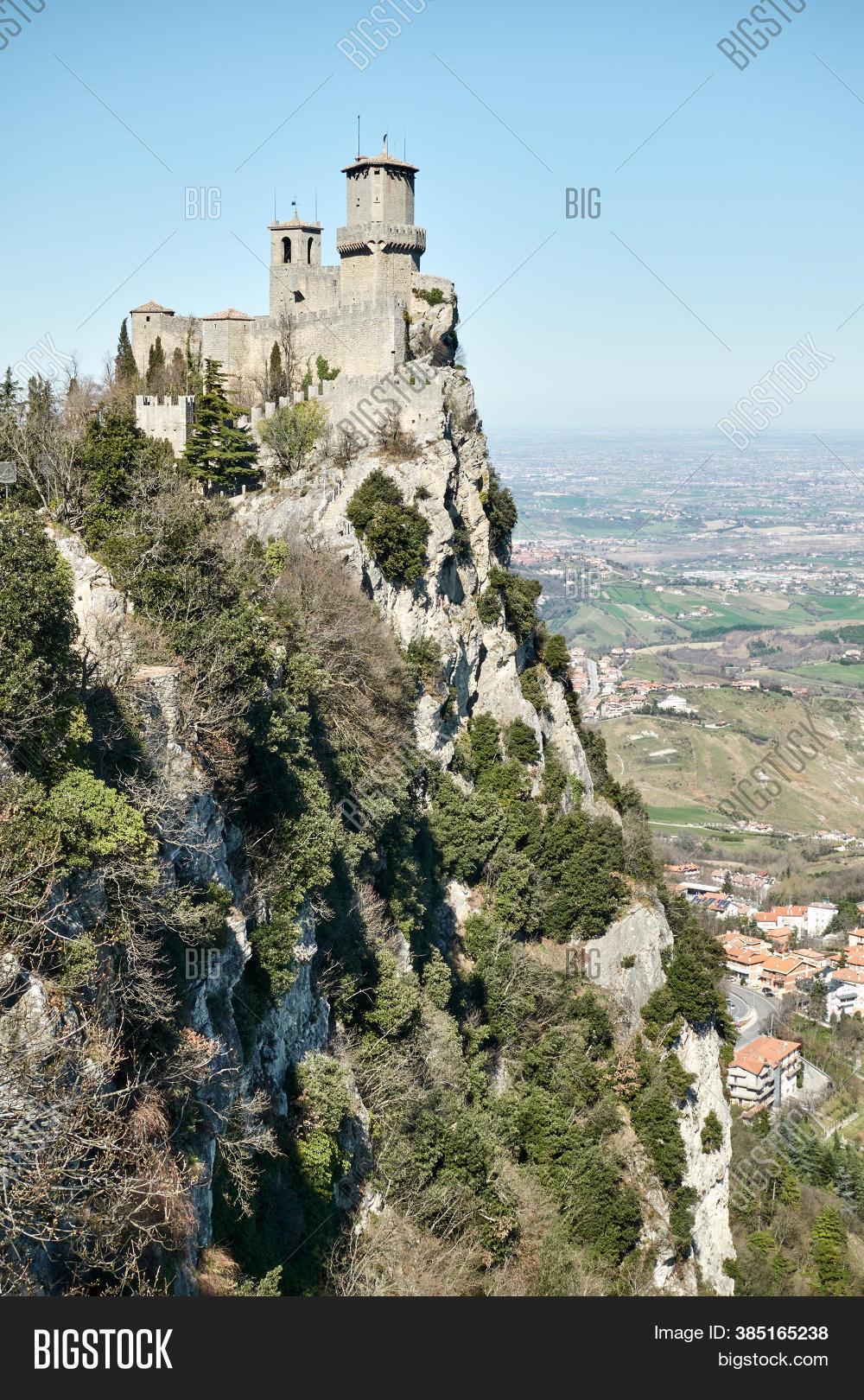 First Tower San Marino Image Photo Free Trial Bigstock