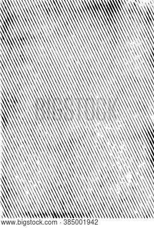 Vintage Diagonal Linear Grunge Texture With Rough Slanted Stripes Effects Vector Illustration