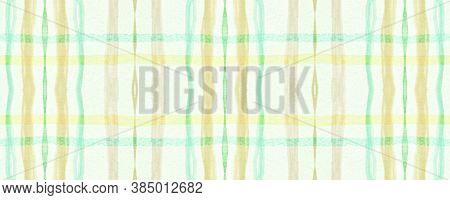 Green Plaid Pattern. Seamless Picnic Fabric. Buffalo Design. Classic Scotland Textile. Fall Plaid Pa