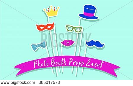 Photo Booth Props Event