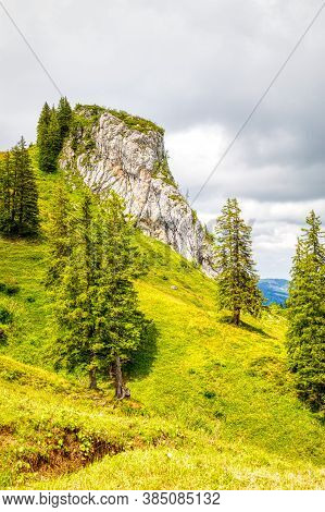 A Few Summer Hiking Impressions From The Famous Hoch-ybrig Region In The Swiss Alps