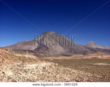 Baja Mexico Dormant Volcanoo