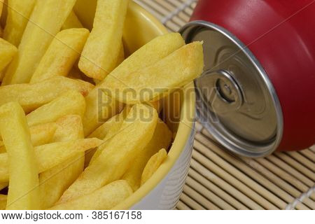 Portion Of Potato Fries In A Bowl