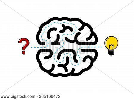 Creative Idea Thinking Outstanding, Inspiration, Brainstorm, Innovation, Solution And Imagination De