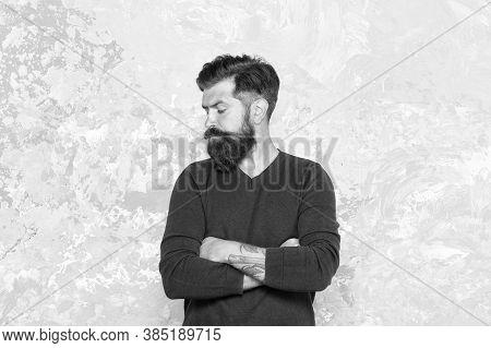 Manhood. Good Looking Guy. Grow Facial Hair. Hipster Appearance. Stylish Beard And Mustache. Beard F