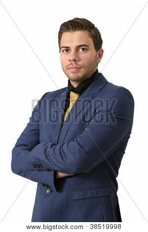 A Young Strict Businessman