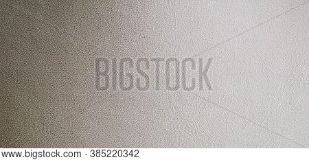 Brown Faux Leather. Texture Or Background