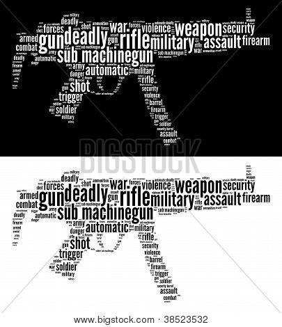 Sub-Machine gun graphics