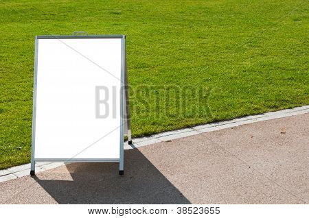 Board On Grass