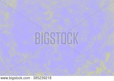 Ceramic Background With Paint Brush Strokes Pattern, Pale Violet And Yellow Patchy Background