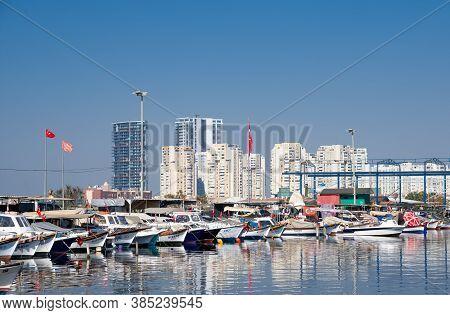 September 2020. Izmir Turkey. Izmir Coast. Editorial Photography.