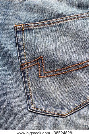 Blue Jeans Back