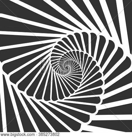 Swirl Hypnotize Spirals. Stair Whirl Hypnotism, Spiral Hypnotic, Hypnosis Swirl Circular, Illustrati