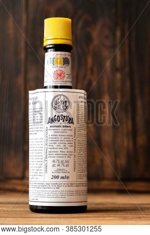 Bottle Of Angostura Aromatic Bitters