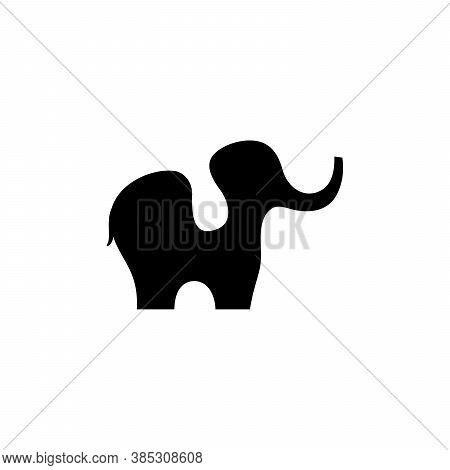 Elephant Logo. Elephant Symbol. Elephant Vector. Elephant Design Conceptual. Animal Icon. Elephant I