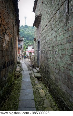 Old Town Yaoli In Jiangxi Province In China, Famous For Porcelain Production