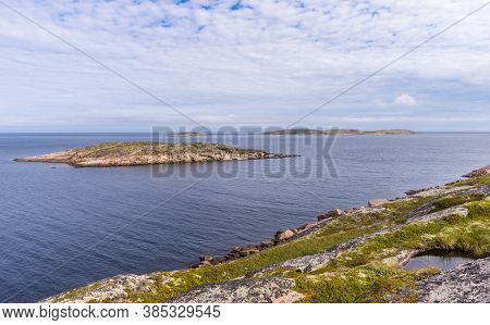 Kuzova Archipelago Located In The North Of Russia In The White Sea To The East Of Of Kem. Consists O