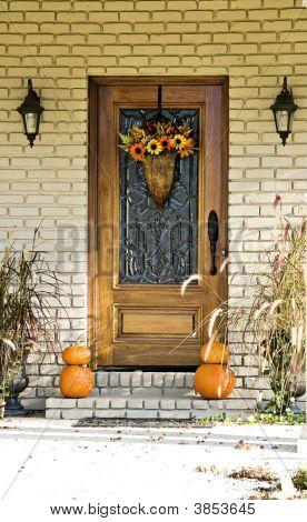 Fall Door Display