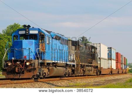 Two Locomotives