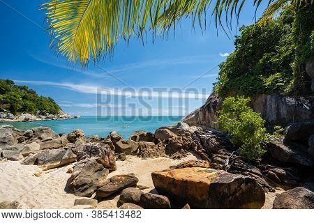 Haad Thansadet In Phangan Island, South Of Thailand