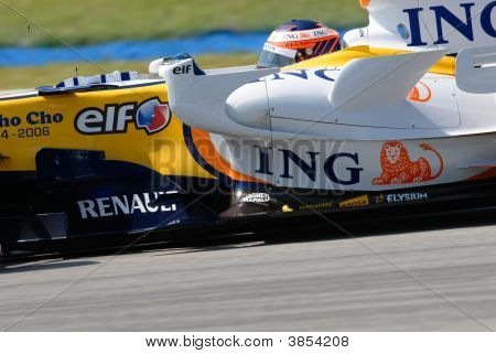 Ing Renault F1 Team R27 Heikki Kovalainen Finnish Finland Sepang Malaysia 2007