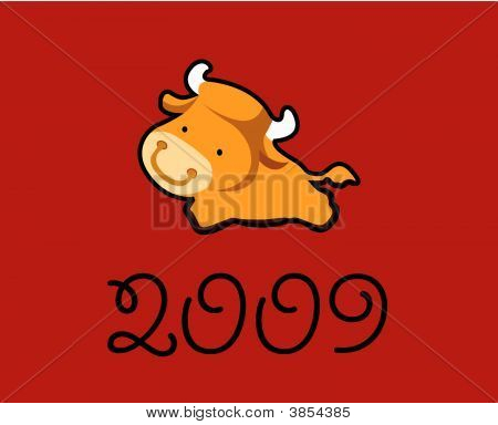 2009 Year Of The Ox Greeting