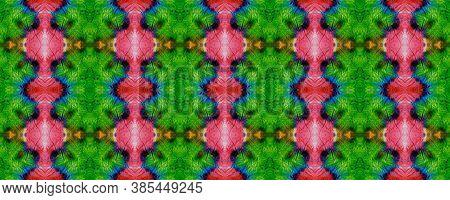 African Motif Pattern. Abstract Batik Motif. Azure Texture. Seamless Tie Dye Illustration. Ikat Afri
