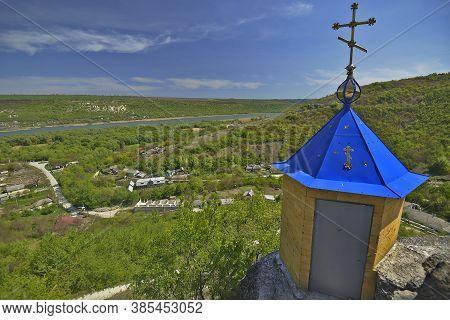 Moldova The Saharna 06/26/2017 Monastery Complex Includes: A Rock Monastery, Ancient Stone Churches,