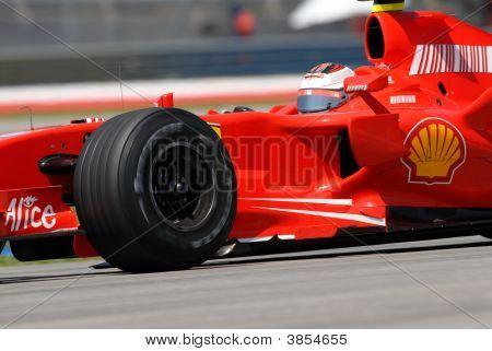 Scuderia Ferrari Marlboro F2007 Kimi Raikkonen Finnish Finland F1 Sepang Malaysia 2007