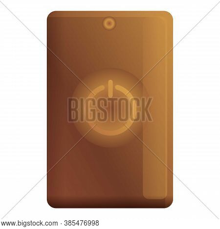 Accumulator Power Bank Icon. Cartoon Of Accumulator Power Bank Vector Icon For Web Design Isolated O