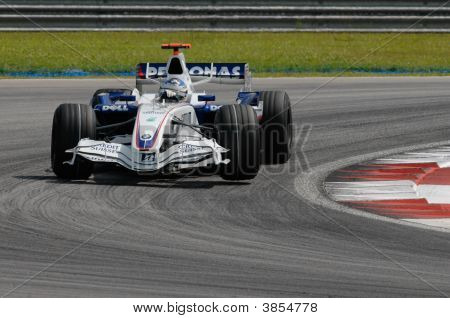 Bmw Sauber F1 Team Nick Heidfeld F1.07 Germany Sepang Malaysia 2007