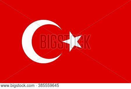 Vector Turkey Flag, Turkey Flag Illustration, Turkey Flag Picture, Turkey Flag Image,
