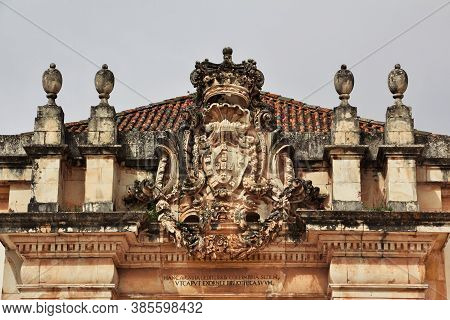 The University In Coimbra City, Portugal