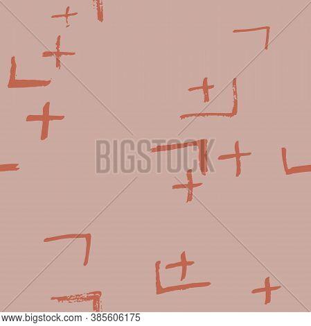 Tie Dye Japanese Geometric Winter Seamless Pattern. Boho Tie Dye Folk Batik. Scribble Cartoon Doodle
