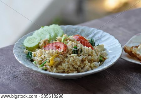 Fried Rice Or Stir-fried Rice With Vegetable