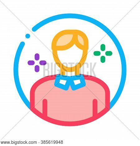 Account Manager Icon Vector. Account Manager Sign. Isolated Contour Symbol Illustration