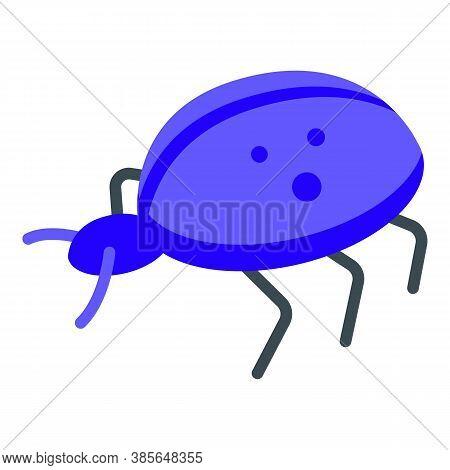 Quality Assurance Bug Icon. Isometric Of Quality Assurance Bug Vector Icon For Web Design Isolated O