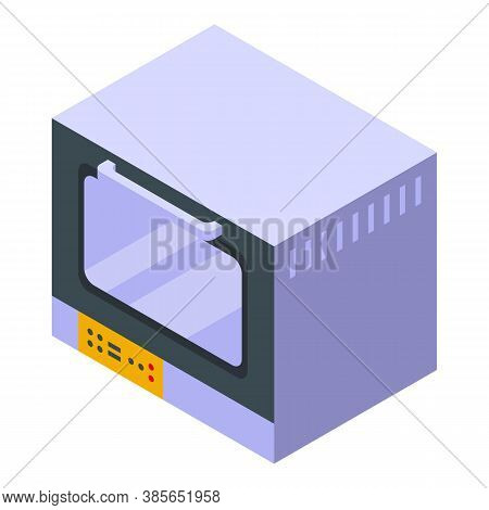 Convection Oven Appliance Icon. Isometric Of Convection Oven Appliance Vector Icon For Web Design Is