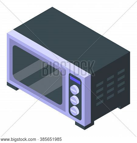 Convection Oven Kitchen Icon. Isometric Of Convection Oven Kitchen Vector Icon For Web Design Isolat