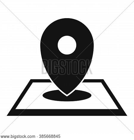 Discovery Gps Pin Map Icon. Simple Illustration Of Discovery Gps Pin Map Vector Icon For Web Design
