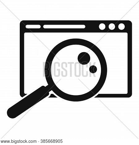 Discovery Web Browser Icon. Simple Illustration Of Discovery Web Browser Vector Icon For Web Design