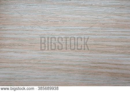 Bleached Oak, Wood Grain With Natural Stripes Close-up.