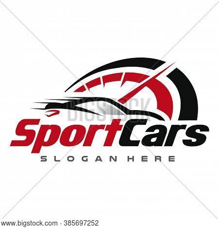 Car Logo, Sport Car, Automotive Logo Vector