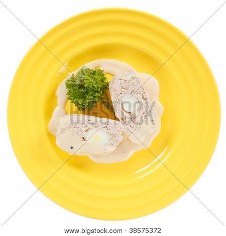 stuffed chicken fillet