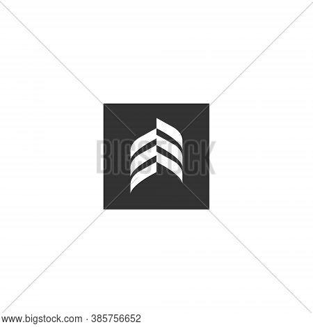 Abstract Logo Geometric Shape Futuristic Illustration Liquid Element 3d Geometry Technology Tech Flu